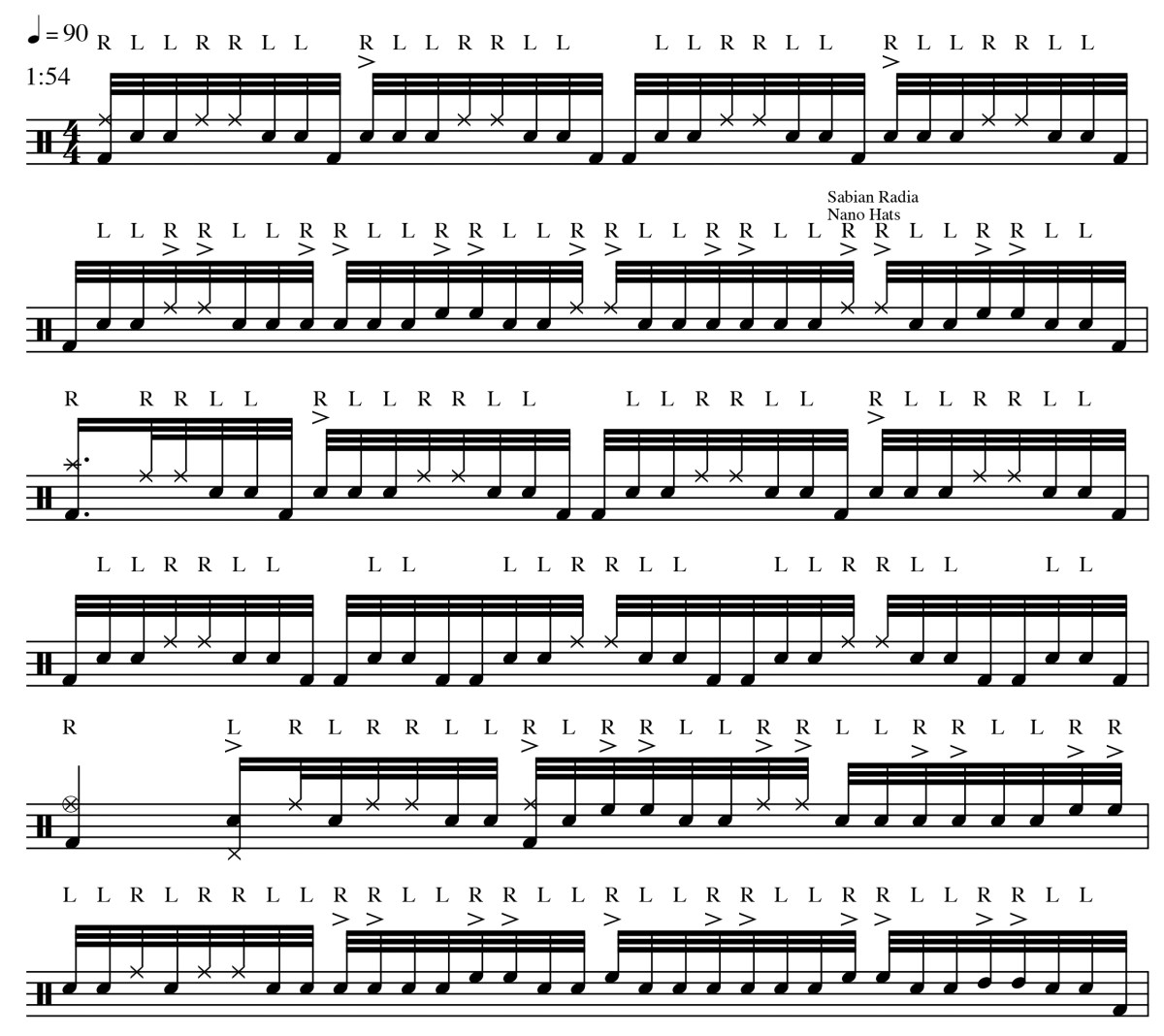 1. GrooveAnalysis-Inverted Double Strokes-Dave Elitch