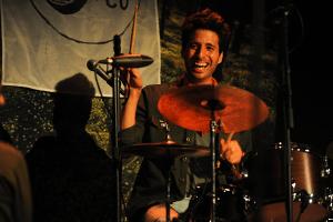 Drummer Sammy Miller