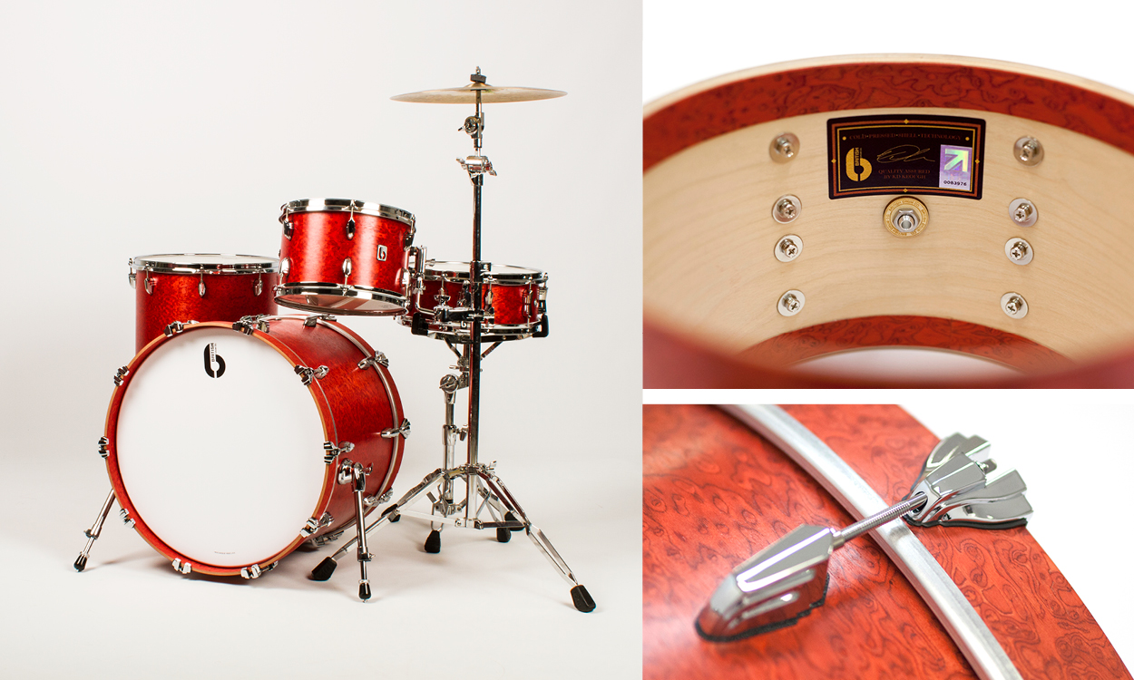 Review British Drum Co Legend Series Set Magazine And White Diagram Of A Including Cymbals High Hat Snare