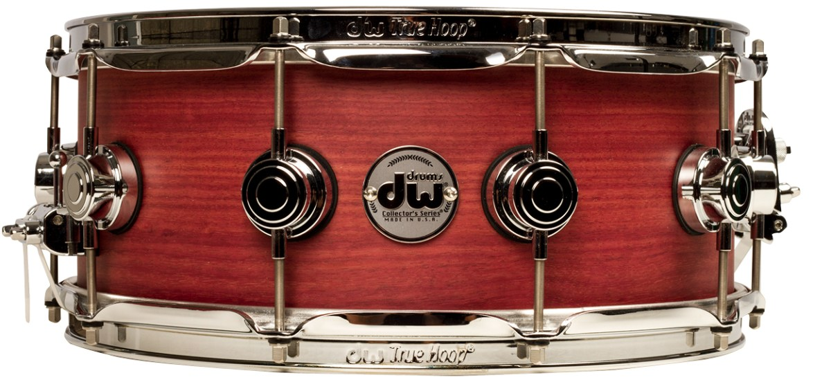 exotic wood snare roundup dw