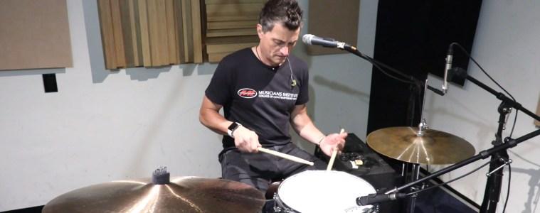 Musicians Institute drum instructor stewart jean