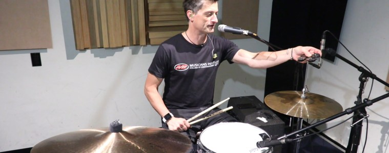 Musicians Institute drum program chair Stewart Jean