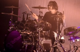 Butch Vig playing with Garbage in Oakland on Oct. 3, 2018. Photo by Estefany Gonzalez