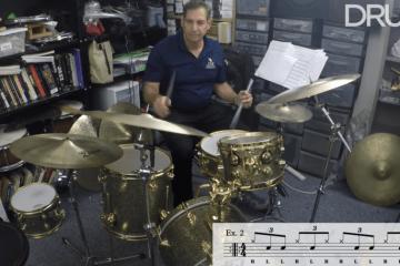danny gottlieb jazz lesson spring 2019