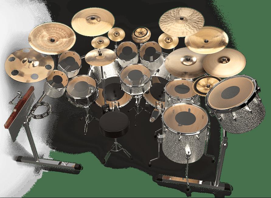 mike portnoy drum set