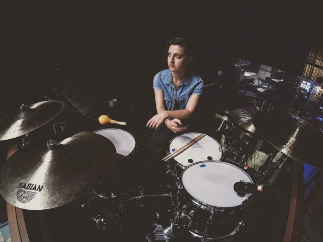 #WCW: Drummer Elena Bonomo, Drummer for 'SIX'