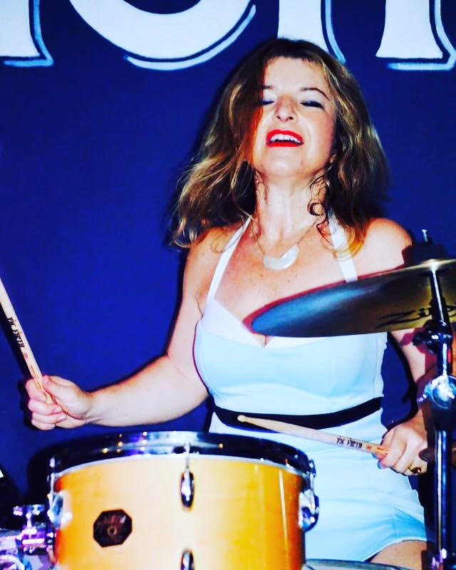 #WCW: No Small Children Drummer Nicola Berlinsky, from Recess to the Ghostbusters Theme Song