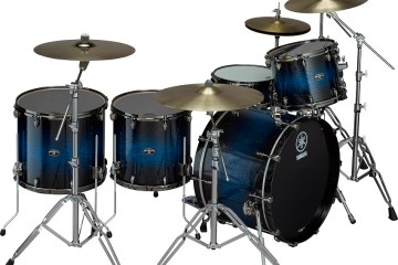yamaha live custom hybrid oak drums