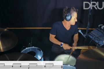psychobilly punk rock drum lesson