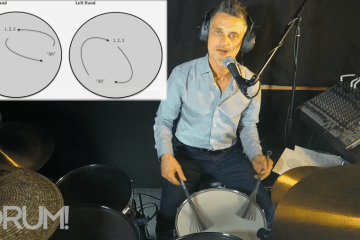 drumming brushes lesson