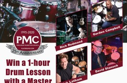PMC drum lesson with a master