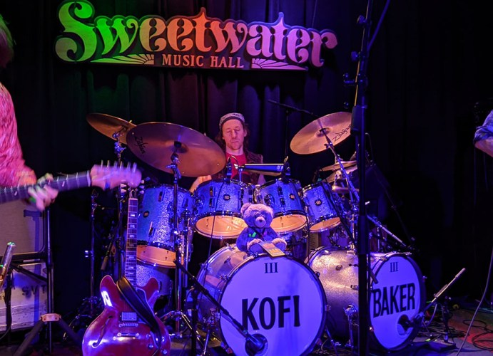 Music Of Cream drummer Kofi Baker