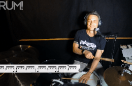 drum lesson 16th note feel