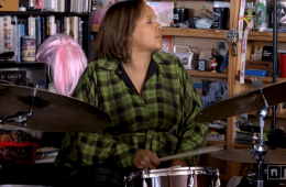 drummer terri lyne carrington in NPR tiny desk concert