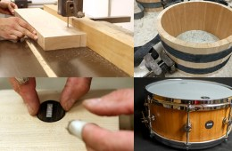 sugar snare drum building workshop