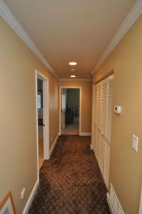Drumm Design Remodel | Trim Work | Hallway Trim | Crown ...