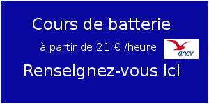 Cours de batterie Tarbes - Drummer.fr