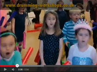 Birthday Drumming & Boomwhacker Workshop Party. Make your birthday go with a bang!