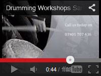 Take a look at this 'behind the scenes' video at one of our Samba drumming workshops.