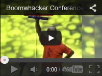 This video shows one of our facilitators, Steve Rivers, hosting an event with over 1200 delegates!! The instruments used are called boomwhackers.