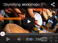 Our company, Drumming Workshops began in 2007. This was our first promo video.