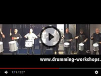 Drumming Workshops rehearsing for a BIG show! Pre show rehearsals for a big event at Birmingham NEC.