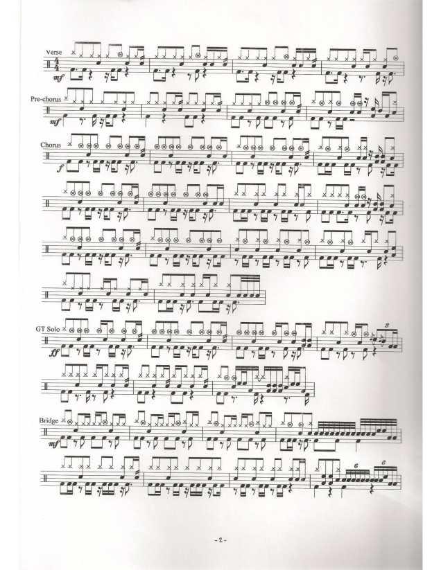 Dear Jane – 不許你注定一人 (鼓譜) – Drumpro 鼓譜分享