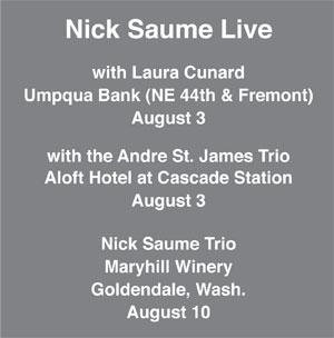 Nick Saume Live