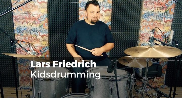 Kidsdrumming mit Lars Friedrich