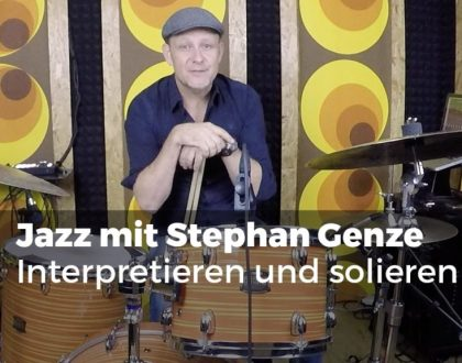 Stephan Genze - Interpretieren und solieren