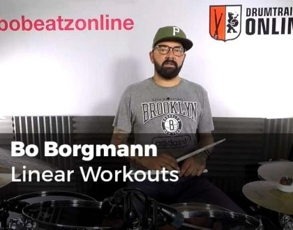 Linear Workouts mit Bo Borgmann