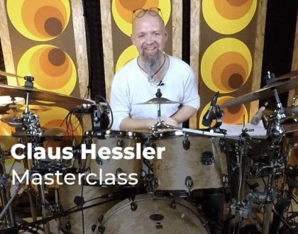 Masterclass with Claus Hessler