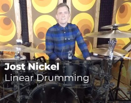 Linear Drumming mit Jost Nickel