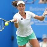 Tennis - Aegon International - Devonshire Park, Eastbourne - 23/6/15 Great Britain's Johanna Konta in action during her second round match Action Images via Reuters / Henry Browne Livepic