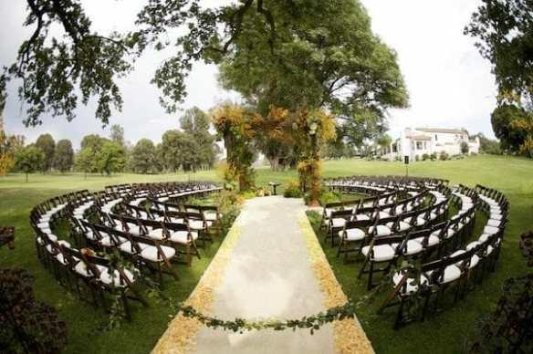 wedding drum circle before