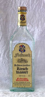 Bottle of Fuersteneck Kirschwasser