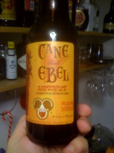 Cane and Ebel beer by Two Brothers Brewing Co