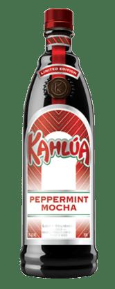 Kahlua Peppermint Mocha bottle