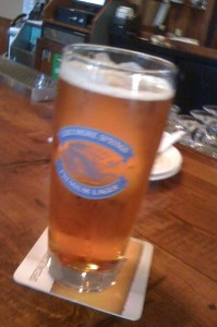A full pint of Creemore Springs Premium Lager
