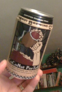 A can of Maui Brewing Co. CoCoNut Porter
