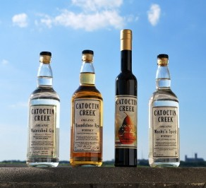 Four Bottles of Catoctin Creek Distilled Liquor