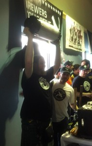 The brewers collective showing how it's done.