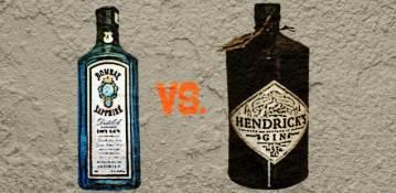 Hendrick's Martini vs Bombay Sapphire Martini