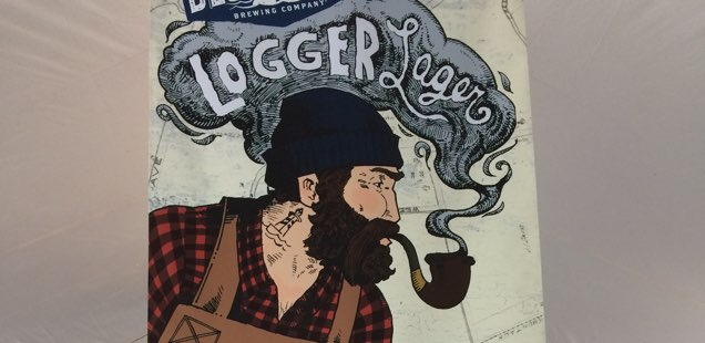 First Annual Blue Point Logger Lager