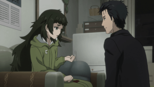 Steins;Gate 0 Ep 11 review Maho ad Okabe