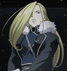 OlivierMiraArmstrong FMA anime