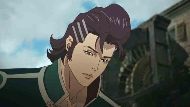 anime mullet
