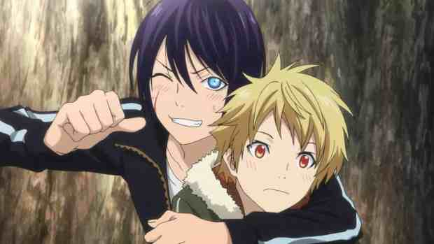 Noragami Yukine and Yato