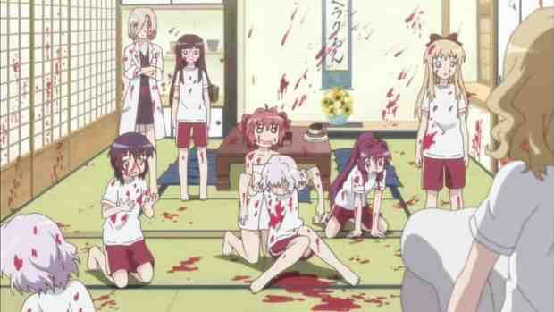 Yuru Yuri bloodbath