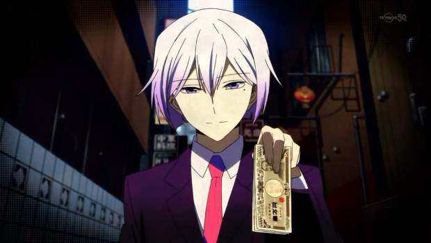 hamatora-art money